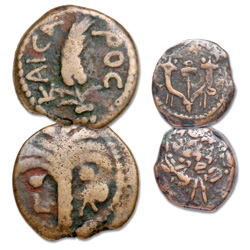 135 B.C. - A.D. 12 Biblical Bronze Set