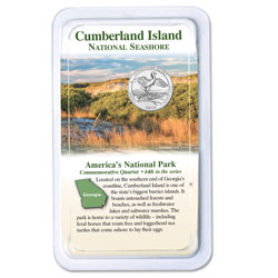 2018 Cumberland Island National Seashore Quarter in Showpak