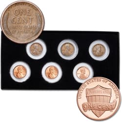 1917 & 2017 Complete PDS Lincoln Head Cent Set