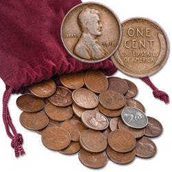 1910-1958 Lincoln Wheat Cent Grab Bag