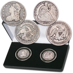 1807-1891 Capped Bust & Liberty Seated Half Dollar Set