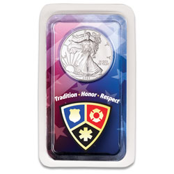 2021 Silver American Eagle in Emergency Services Showpak