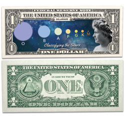 Colorized U.S. Innovation $1 Federal Reserve Note - Delaware