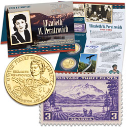 2020 Native American Dollar Coin & Stamp Set