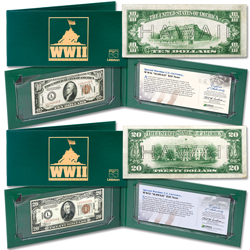 WWII Emergency Hawaii Note Set