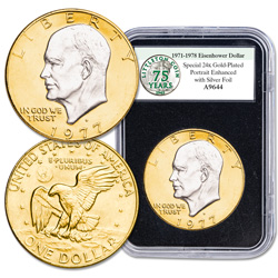 Special Enhanced Eisenhower Dollar