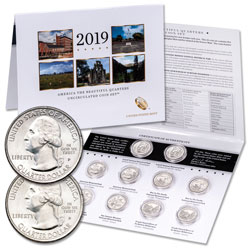 2019 P&D National Park Quarter Set in Card