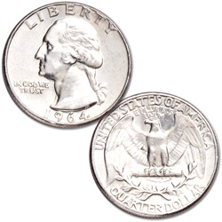 Washington Silver Quarter