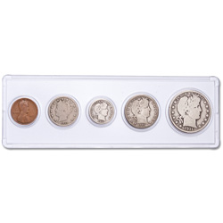 1911 Year Set with Holder (5 coins)