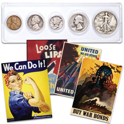 1945 Year Set with FREE Posters
