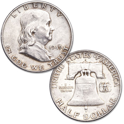 Image for 1949-D Franklin Half Dollar from Littleton Coin Company