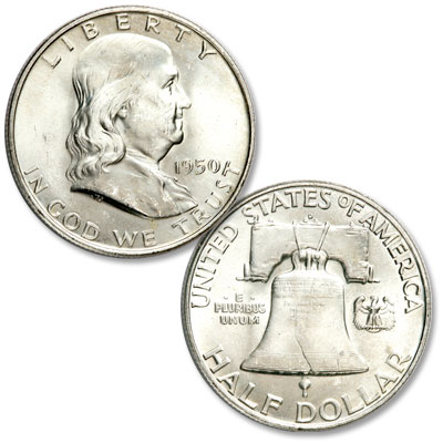 Image for 1950-D Franklin Half Dollar from Littleton Coin Company
