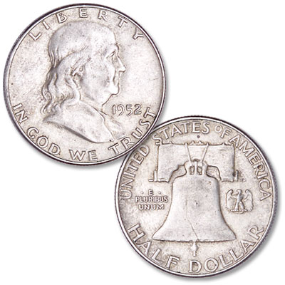 Image for 1952 Franklin Half Dollar from Littleton Coin Company
