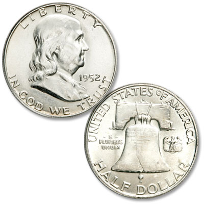 Image for 1952-D Franklin Half Dollar from Littleton Coin Company
