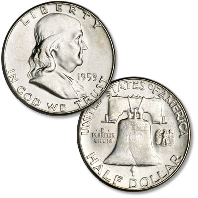 Image for 1953 Franklin Half Dollar from Littleton Coin Company