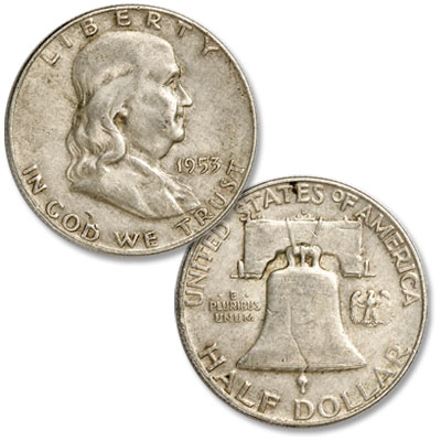 Image for 1953-D Franklin Half Dollar from Littleton Coin Company