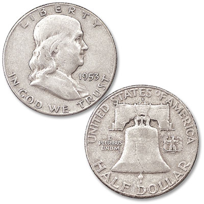 Image for 1953-S Franklin Half Dollar from Littleton Coin Company
