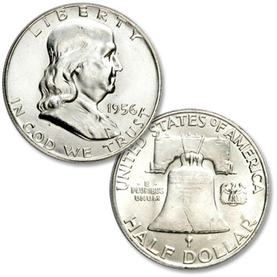 Image for 1956 Franklin Half Dollar from Littleton Coin Company