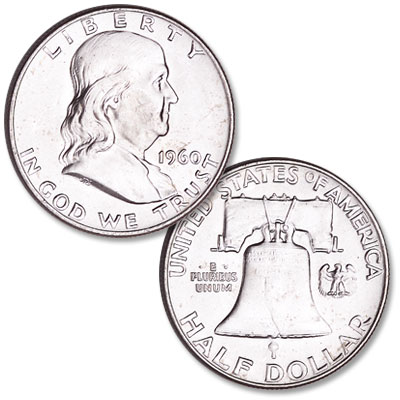 Image for 1960 Franklin Half Dollar from Littleton Coin Company
