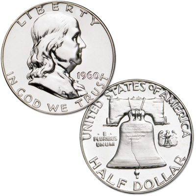 Image for 1960 Franklin Half Dollar Proof from Littleton Coin Company
