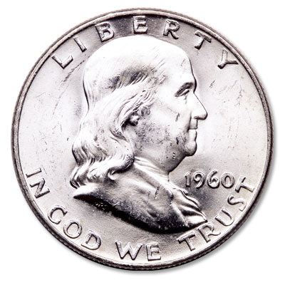 Image for 1960-D Franklin Half Dollar from Littleton Coin Company