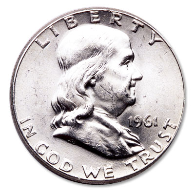 Image for 1961 Franklin Half Dollar from Littleton Coin Company