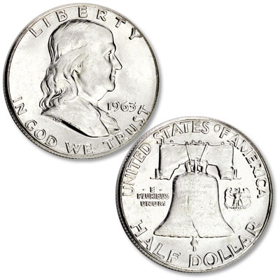 Image for 1963 Franklin Half Dollar from Littleton Coin Company