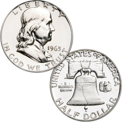 Image for 1963 Franklin Half Dollar Proof from Littleton Coin Company