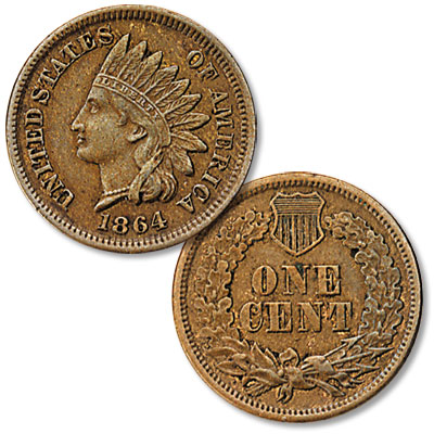 Image for 1864 Indian Head Cent, Variety 3 from Littleton Coin Company