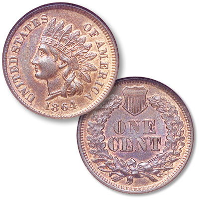Image for 1864 Indian Head Cent from Littleton Coin Company