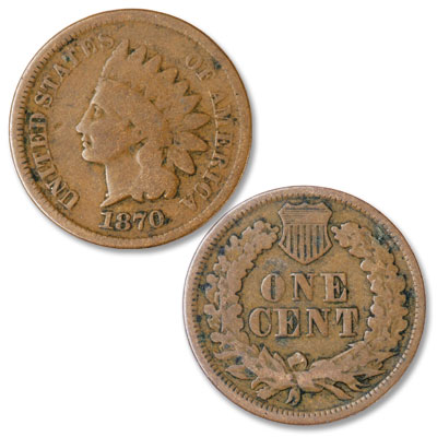 Image for 1870 Indian Head Cent from Littleton Coin Company