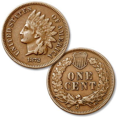 Image for 1872 Indian Head Cent from Littleton Coin Company