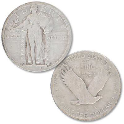 Image for 1920 Standing Liberty Silver Quarter from Littleton Coin Company