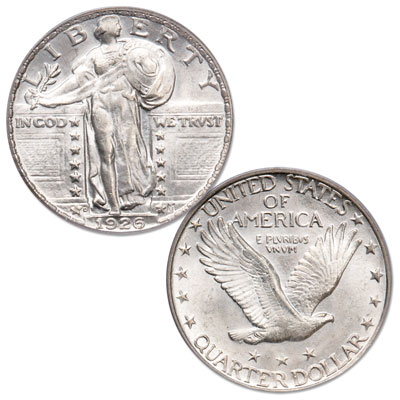 Image for 1926-D Standing Liberty Quarter from Littleton Coin Company