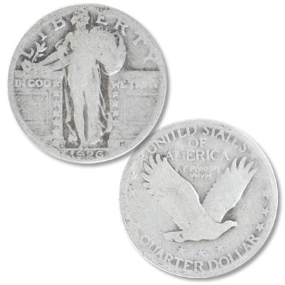 Image for 1926-S Standing Liberty Silver Quarter from Littleton Coin Company