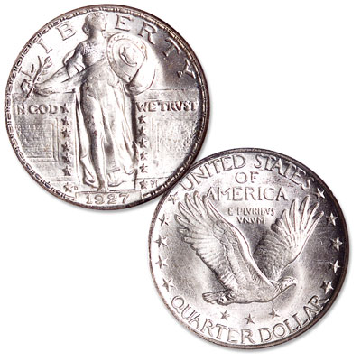 Image for 1927-D Standing Liberty Quarter from Littleton Coin Company