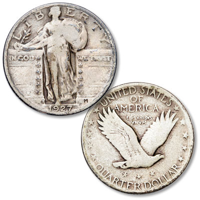 Image for 1927-S Standing Liberty Silver Quarter from Littleton Coin Company