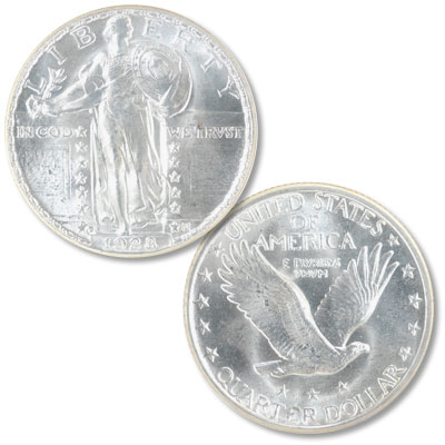 Image for 1928-D Standing Liberty Silver Quarter from Littleton Coin Company