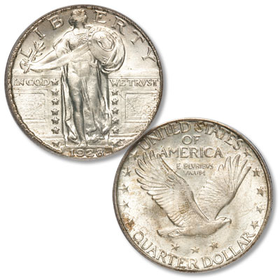 Image for 1928-S Standing Liberty Silver Quarter from Littleton Coin Company