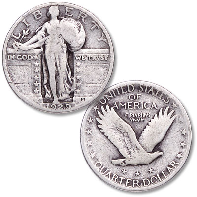 Image for 1929 Standing Liberty Quarter from Littleton Coin Company