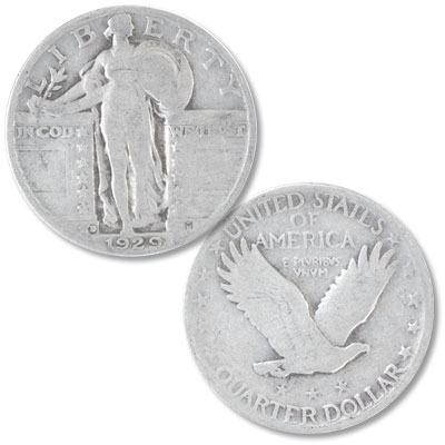 Image for 1929-D Standing Liberty Silver Quarter from Littleton Coin Company