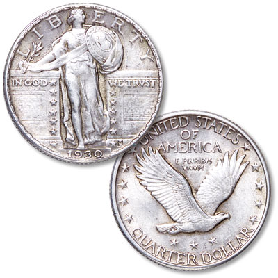 Image for 1930 Standing Liberty Silver Quarter from Littleton Coin Company