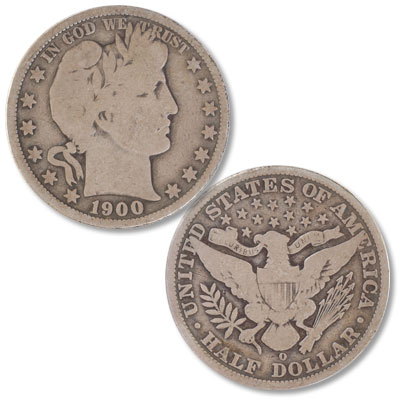Image for 1900-O Barber Half Dollar from Littleton Coin Company