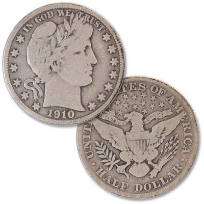 Image for 1910-S Barber Half Dollar from Littleton Coin Company