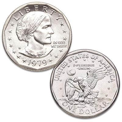Image for 1979-D Susan B. Anthony Dollar from Littleton Coin Company