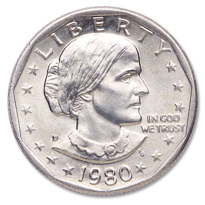 Image for 1980-D Susan B. Anthony Dollar from Littleton Coin Company