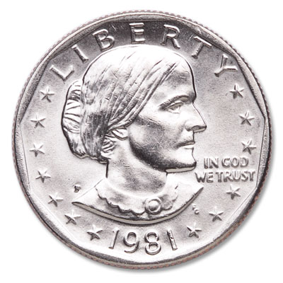 Image for 1981-P Susan B. Anthony Dollar from Littleton Coin Company