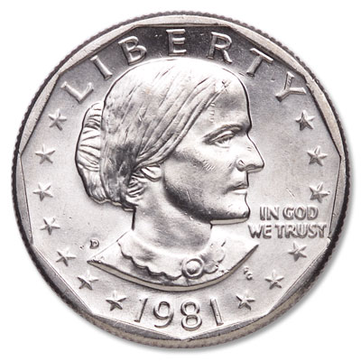 Image for 1981-D Susan B. Anthony Dollar from Littleton Coin Company