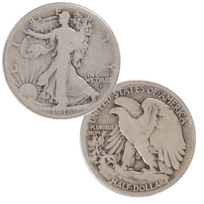 Image for 1916-D Liberty Walking Half Dollar from Littleton Coin Company