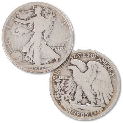 Image for 1917-D Liberty Walking Half Dollar, Reverse from Littleton Coin Company